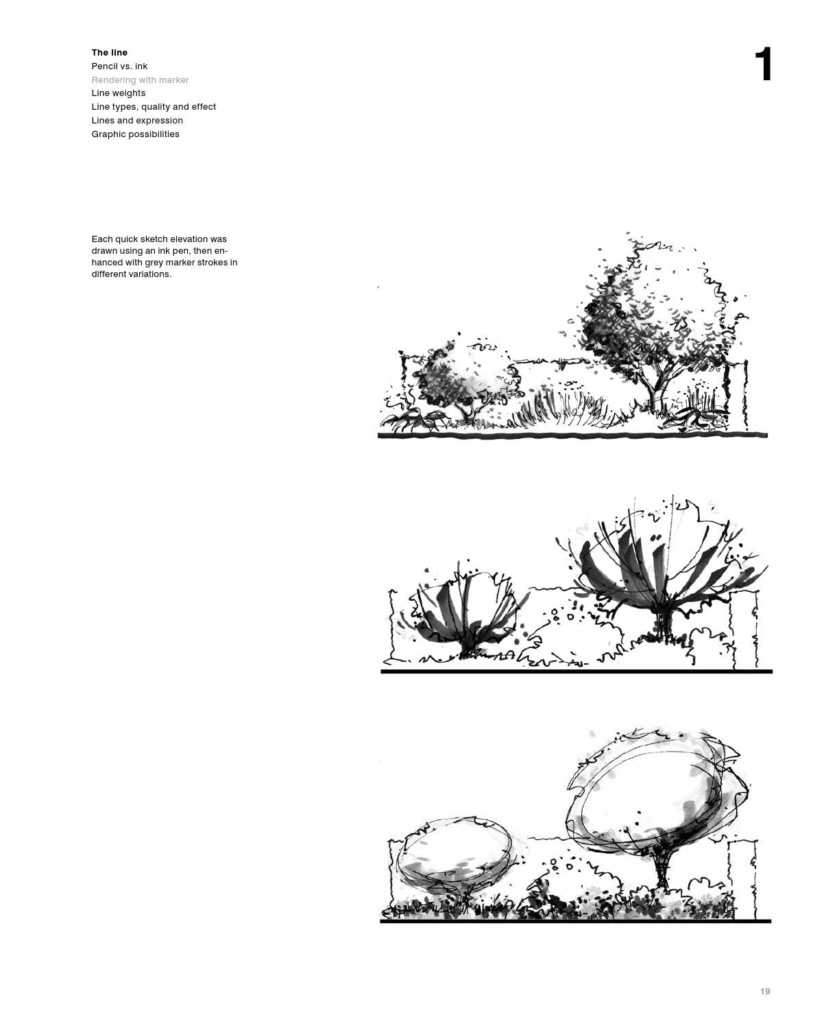 Drawing for landscape architects perspective and drawings drawing for landscape architects by detail issuu buycottarizona Choice Image