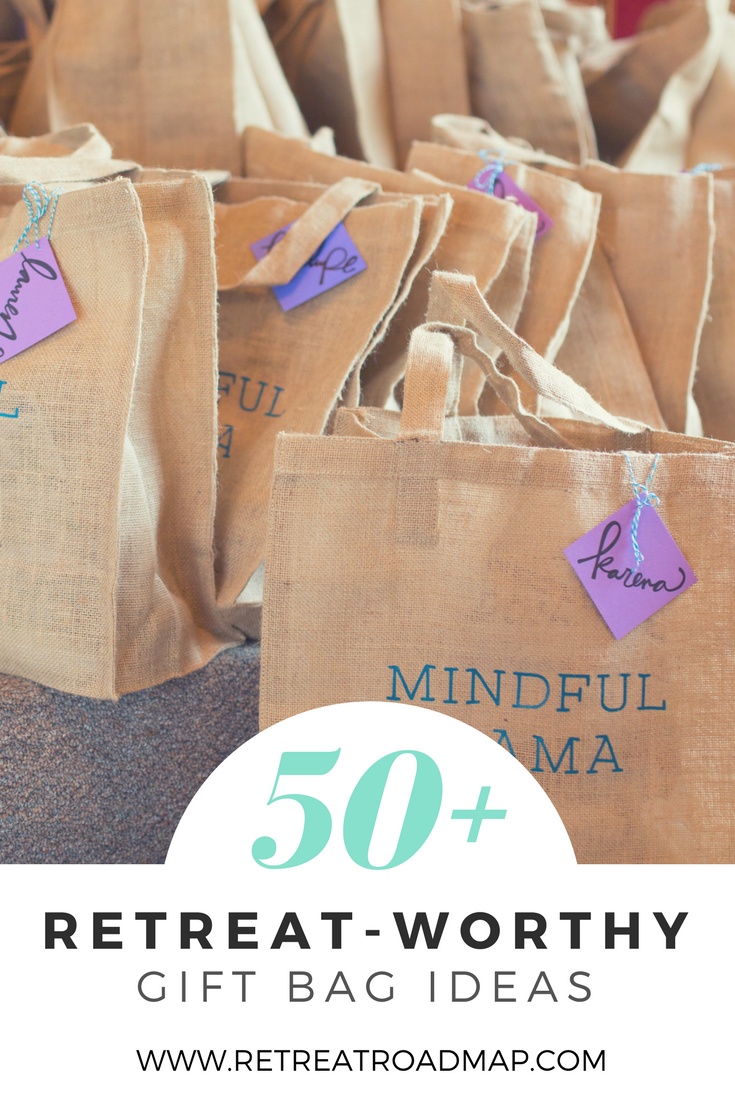 Gift Bag Ideas Retreat Gifts