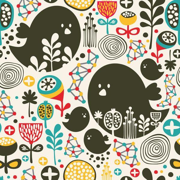 Big Bird By Panova Society6 Pattern Play Pattern Art