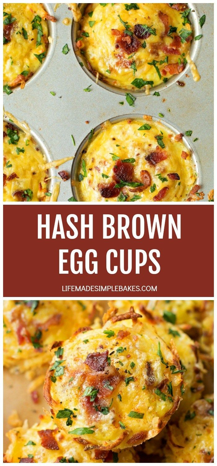 Hash Brown Egg Cups - Life Made Simple