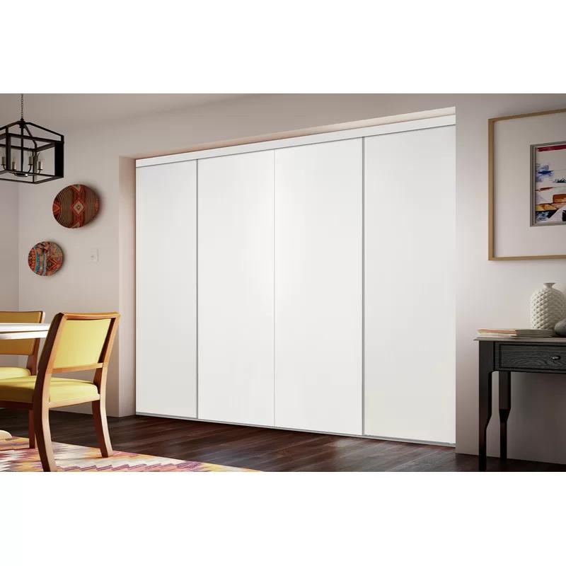 Flush Manufactured Wood Unfinished Smooth Flush Solid Core Primed Mdf Interior In 2020 Sliding Closet Doors Custom Door Sliding Doors