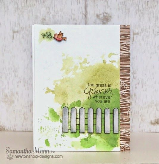 Garden Whimsy Stamp Set by Newtons Nook Designs