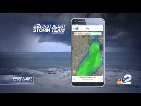 Download the NBC2 weather app WBBH News for