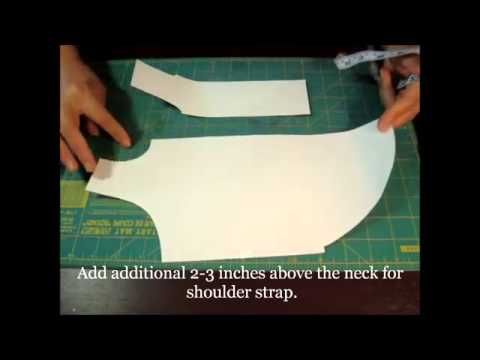 ✂ How To Make Easy Free Dog Clothes Cutting Pattern for Homemade ...