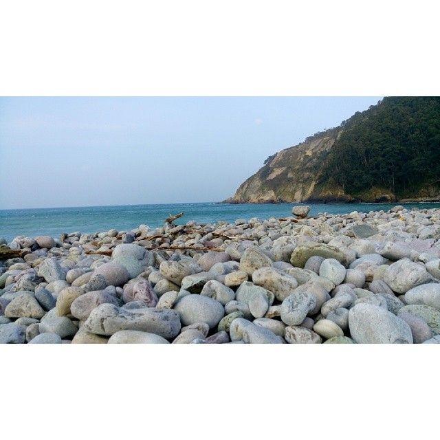 Playa de la Concha de Artedo en #Cudillero #Asturias