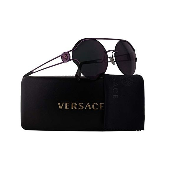 b582337c4715f NWT Authentic Versace Manifesto Round Sunglasses NWT Authentic Versace  Manifesto Round Sunglasses - Metal Frame - Non-Polarized - 61mm Lens Width  - 17mm ...