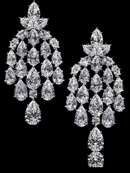 Harry Winston Diamond Chandelier Waterfall Earrings Harry Winston Jewelry Diamond Earrings Online Diamond Chandelier Earrings