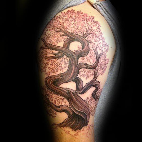 60 Bonsai Tree Tattoo Designs For Men Zen Ink Ideas Bonsai Tree Tattoos Tree Tattoo Forearm Tree Tattoo