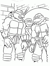 Desenho Para Colorir Tartaruga Ninja Tartarugas Ninjas Paginas