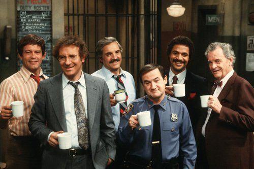 Barney Miller - Ron Carey, Max Gail, Ron Glass, Steve -5918