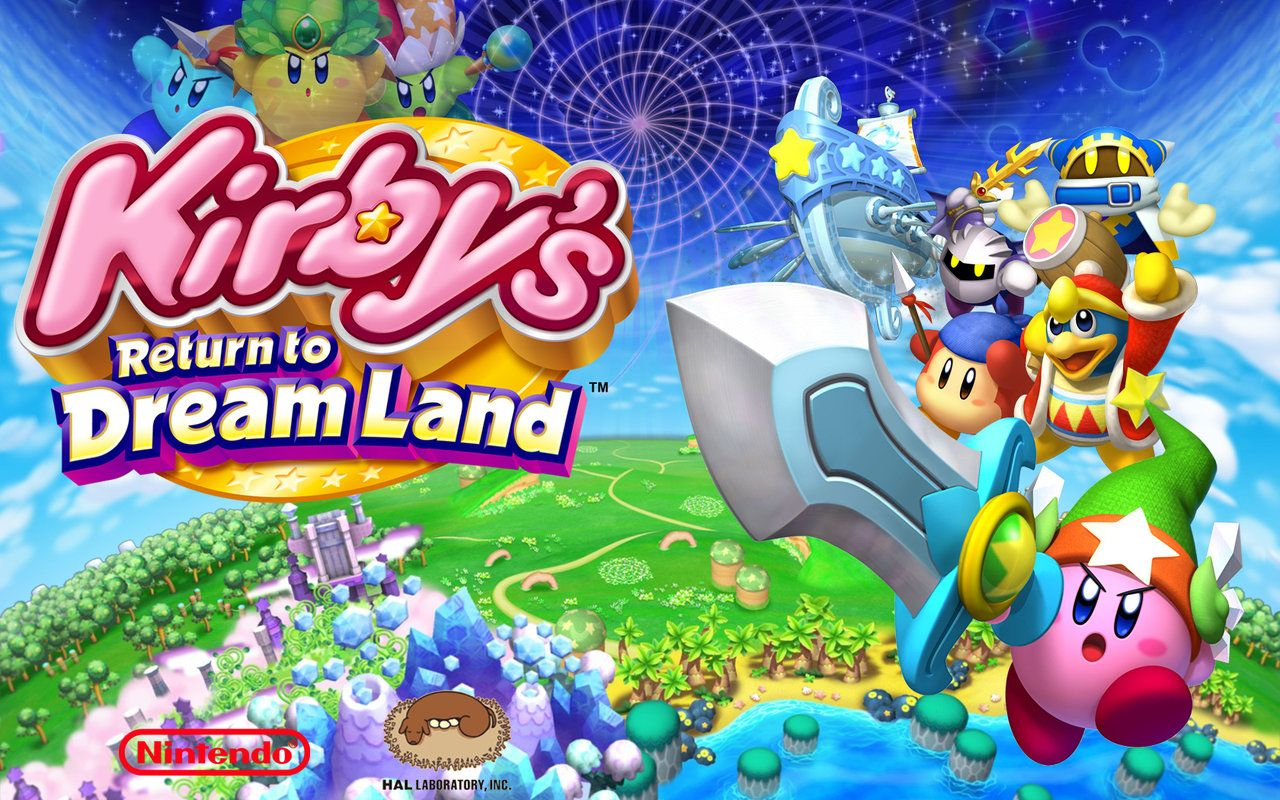Kirbys Return To Dreamland Wallpaper Warp Star By Wallpapers