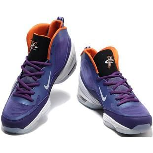 asneakers4u.com Penny Hardaway Shoes Nike Air Penny 5 V Club Purple/Orange/