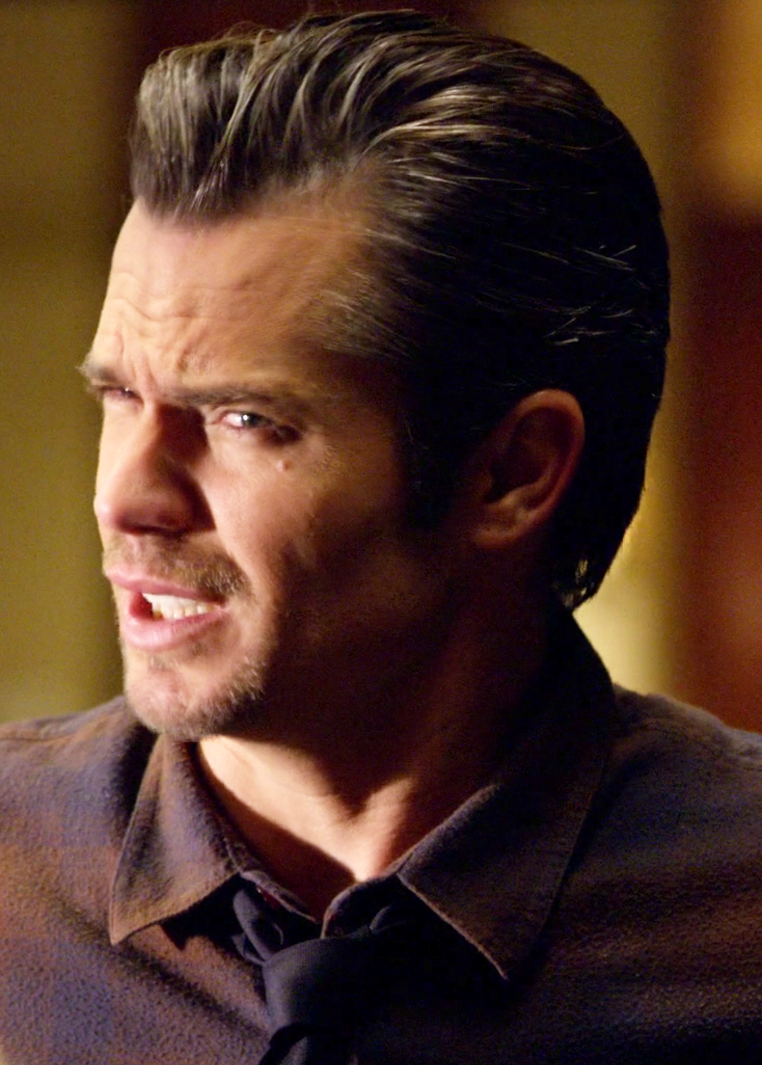 Timothy Olyphant As Raylan Givens In Justified Season 2 Episode 3