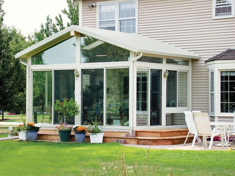 Country Style House Plans | Country-Style Home Sunroom Design ...