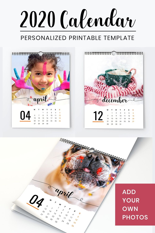 Photo Calendar November Letter Size Calendar 2020