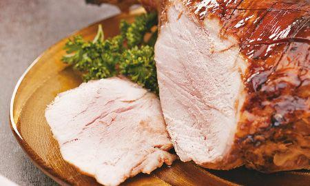 Pernil de cerdo con jerez y panela