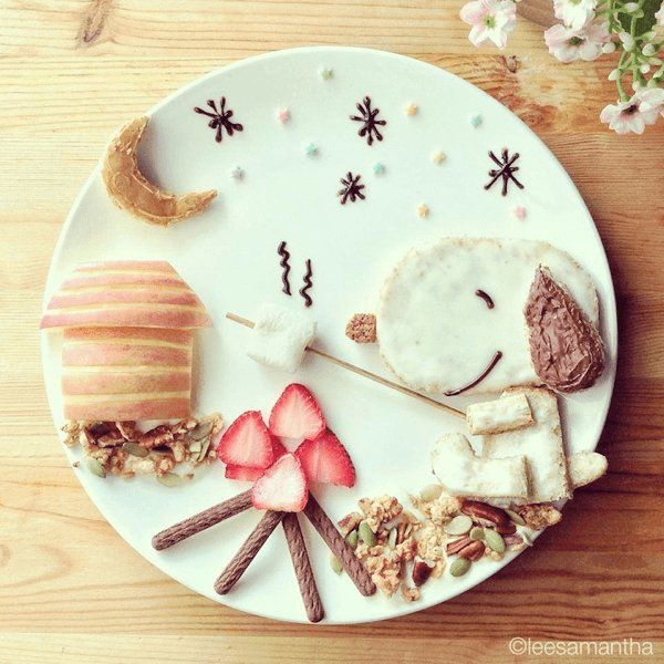 Stay-at-Home Moms Adorable Food Art
