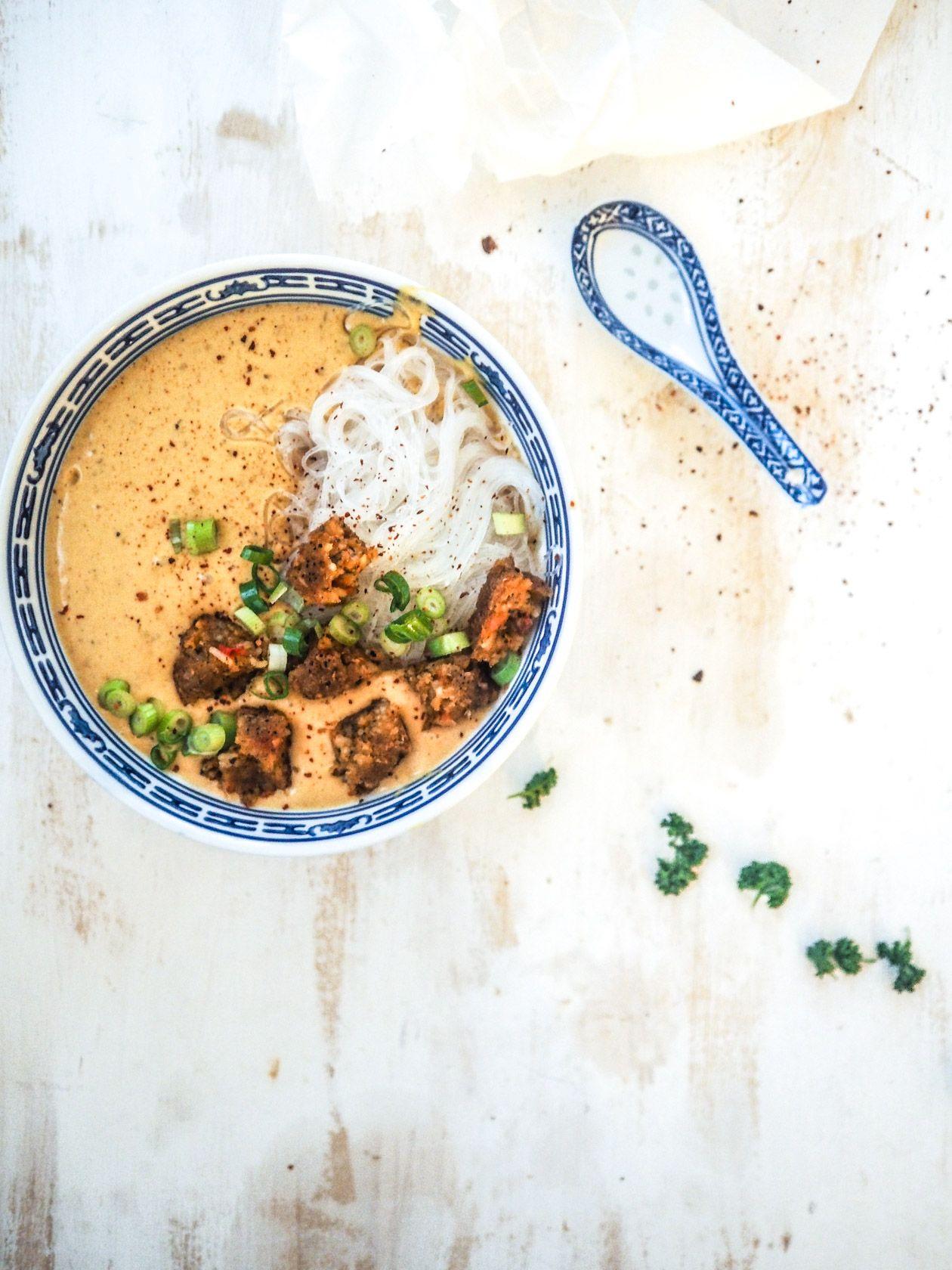 Rezept für thailändische Kokosnuss-Suppe  Nummer Fünfzehn