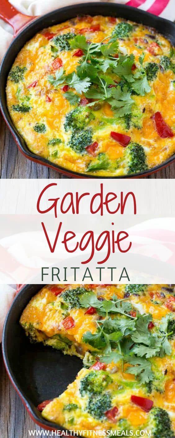 Garden Veggie Frittata