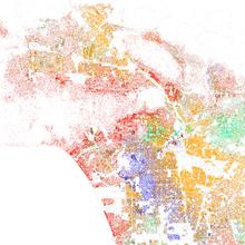 Los Angeles Demographics Los Angeles Map Map Los Angeles