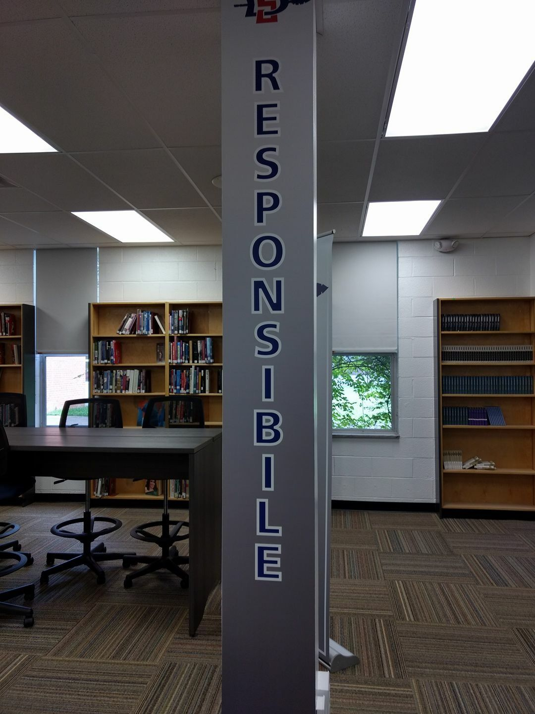 This Is In The Remodeled Library At South Doyle High School