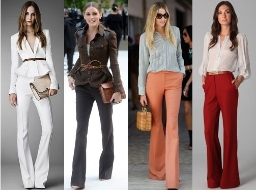 wide leg pants professional work outfit | Clothes - 6 - Insp ...