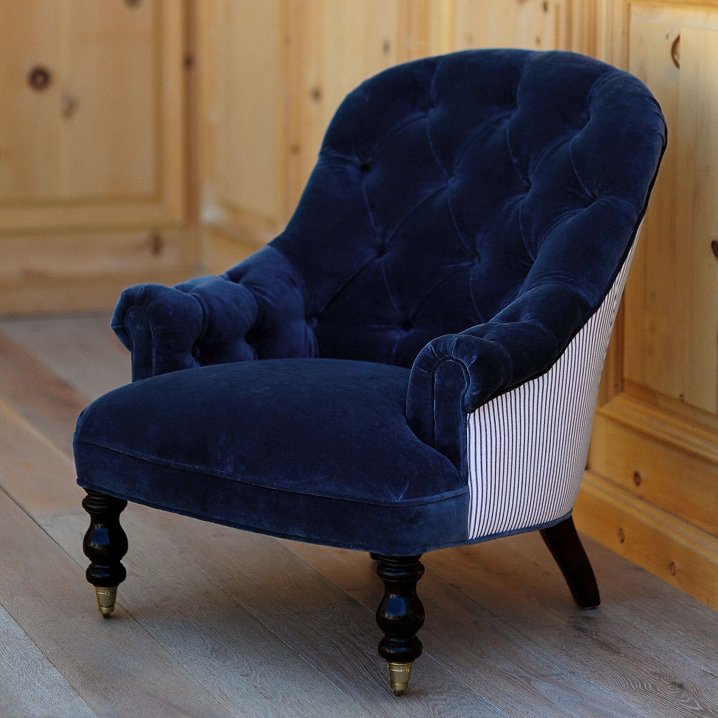 Best Pin By Lisa Jones On Navy Blue Chairs Blue Accent Chairs 400 x 300
