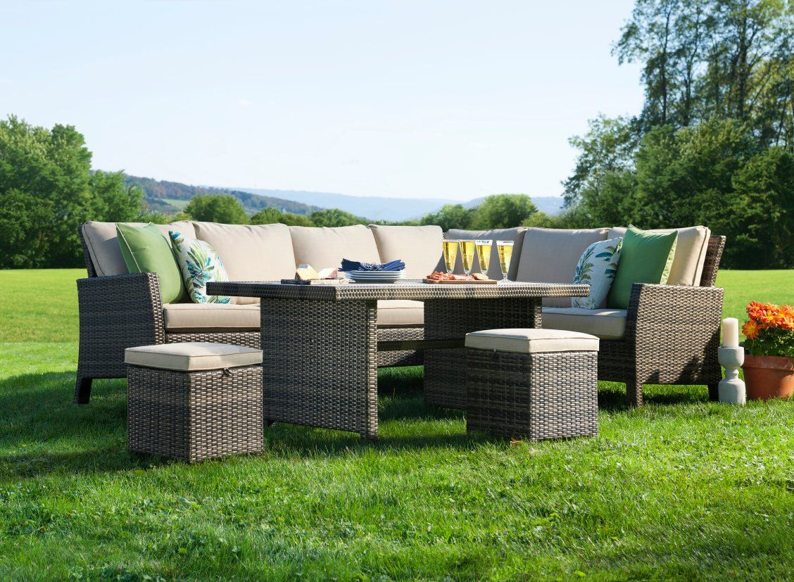 Make The Best Of Those Sunny Days And Clear Evenings With The Cozy Montego 4 Piece Outd Commercial Outdoor Furniture Clearance Patio Furniture Outdoor Settings
