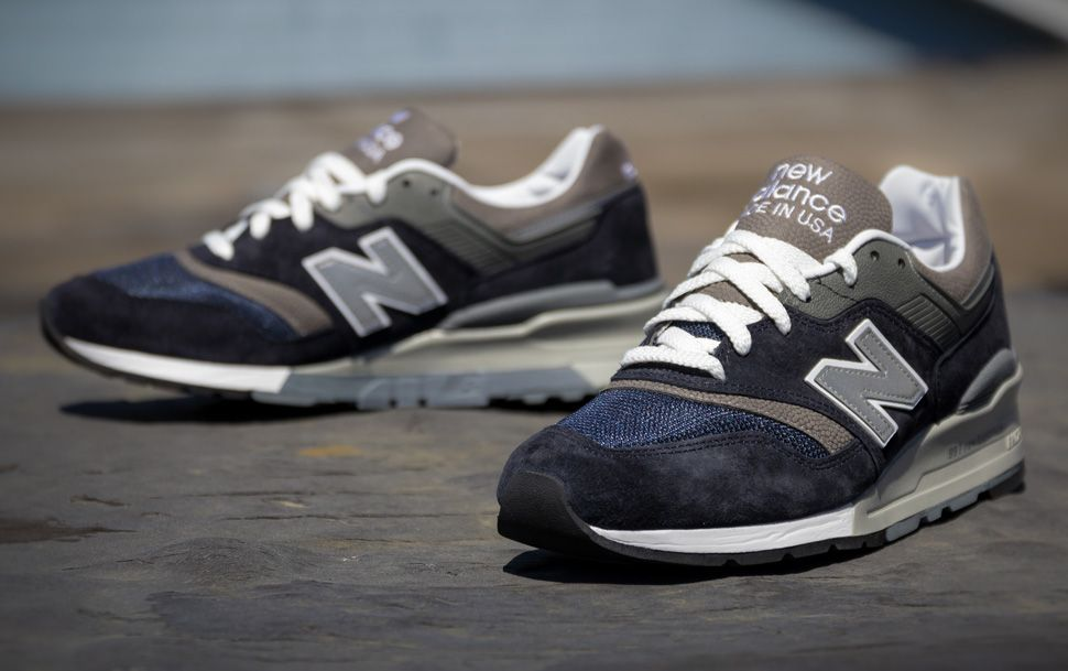 New Balance 997 'Navy & Grey' (Detailed Pictures