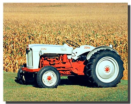 1953 Ford Naa Golden Jubilee Tractor Poster Tractors Vintage