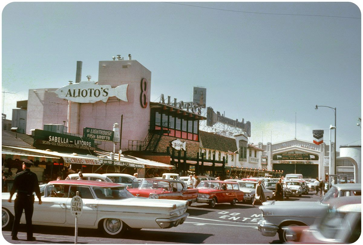 Image result for Fisherman's Wharf San Francisco historical photos