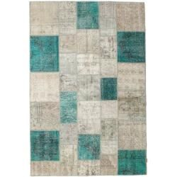 Photo of Patchwork Teppich 200×302 Moderner Teppich