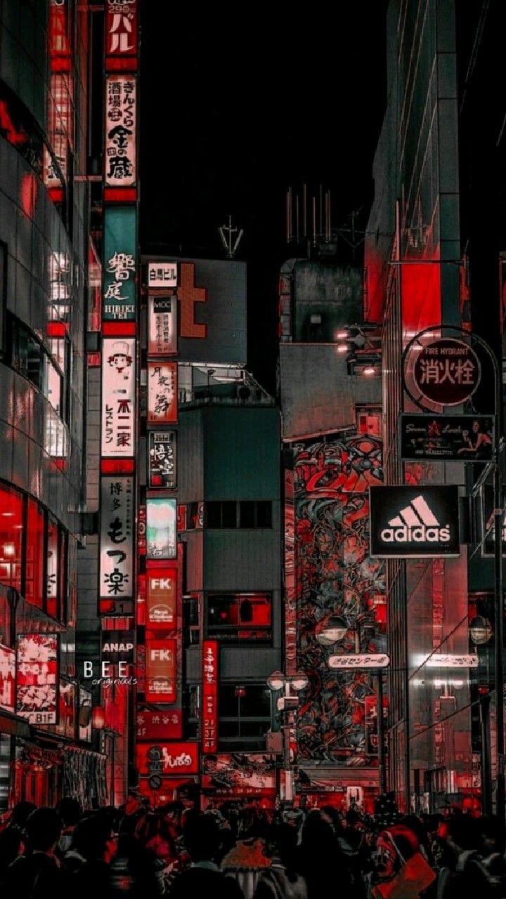 RED CITY LIGHTS LOCKSCREEN