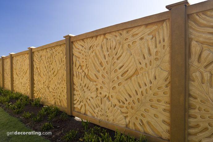 cercos para patio ideas para cercos muros dise o de On disenos de paredes