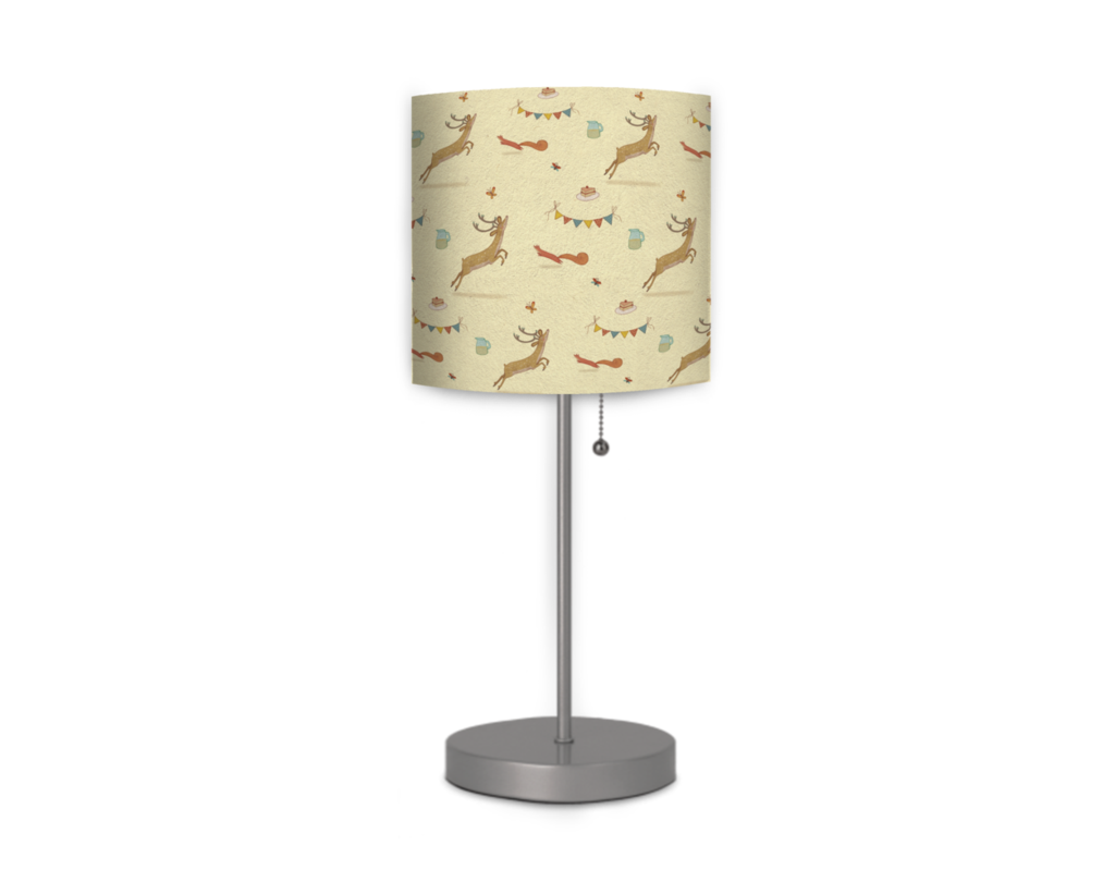 Sunny Fun By Alexandra Ball From Mouse Magpie 21 Tall Lamp With A 7 Round Base Discover Whimsical Imaginative Room Decor At Lamp Tall Lamps Cool Lamps