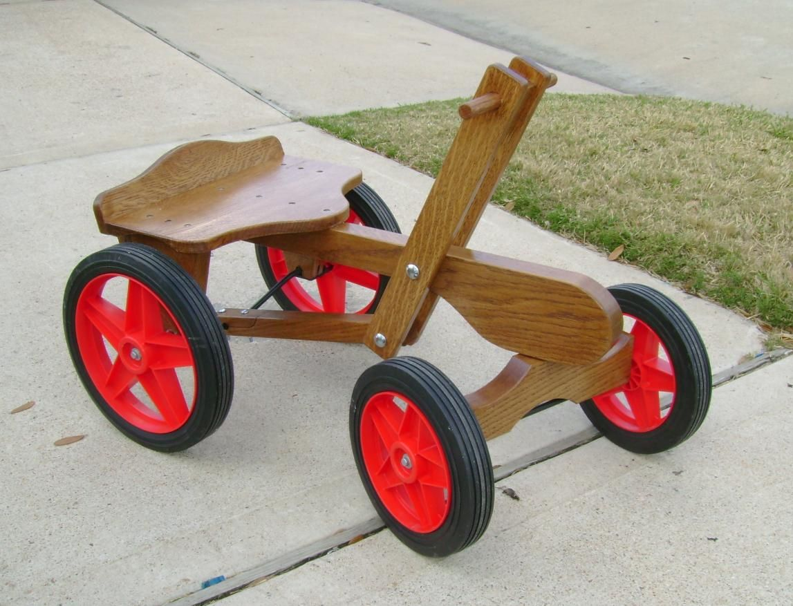 irish mail cart. made from quarter sawn white oak. | frank