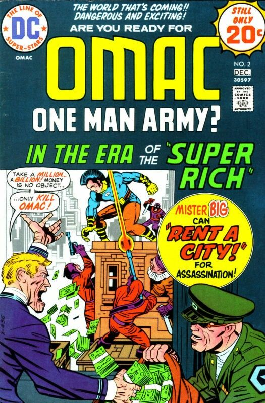 OMAC #2 Jack Kirby