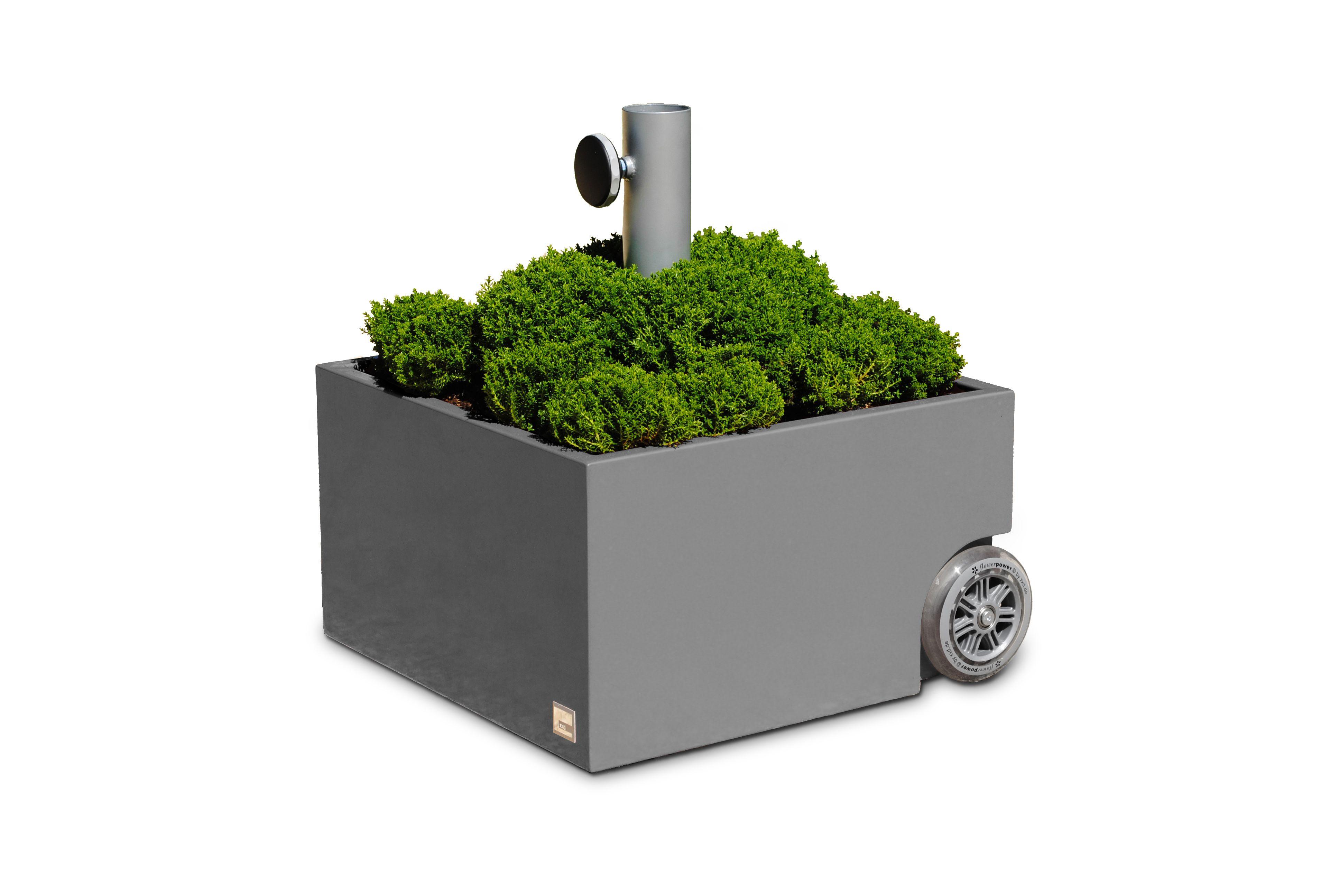 Sonnenschirmhalter bepflanzbar