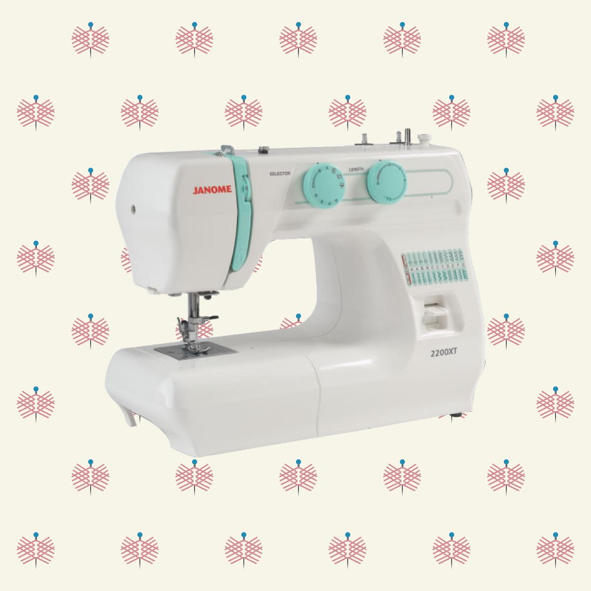 Janome 2200XT Sewing Machine | Sewing machine, Sewing, Janome