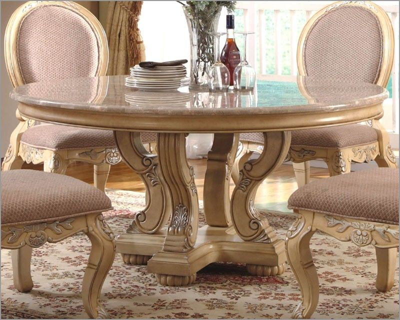 round marble top dining table home adore with images