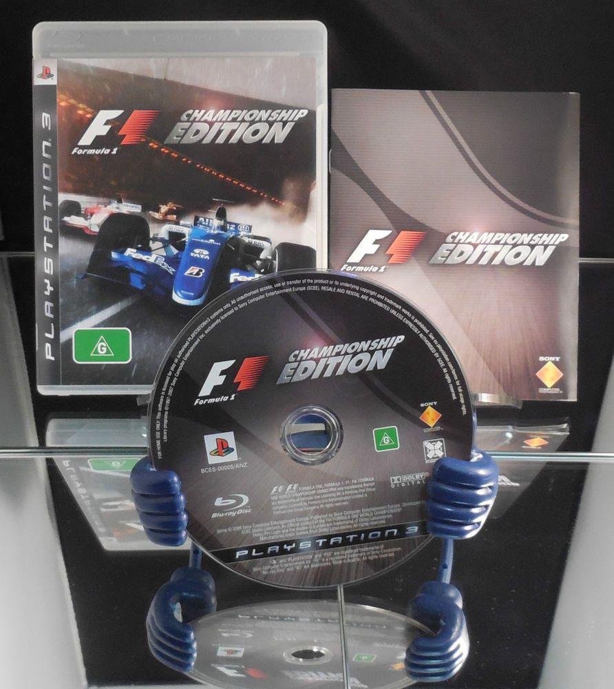 Playstation 3 Formula 1 Championship Edition