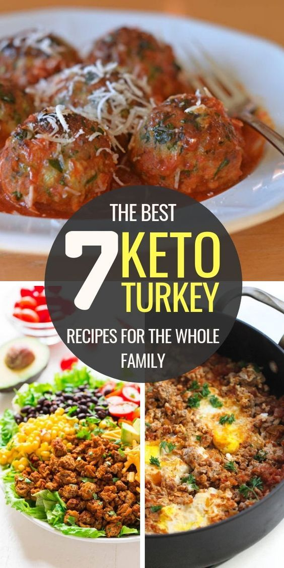 7 Keto Ground Turkey Recipes for The Whole Family images