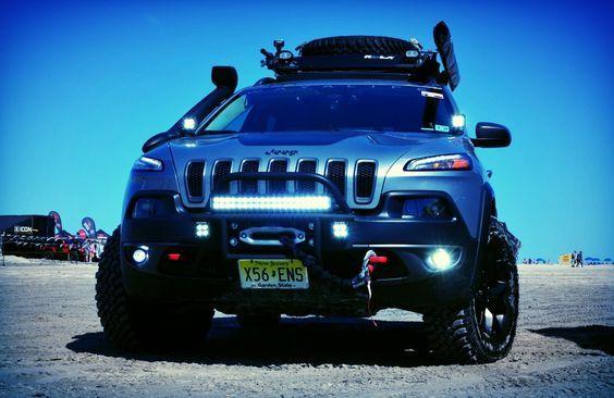 2014 2017 Jeep Cherokee Kl Lift Kits Accessories Jeep Cherokee Lifted Jeep Cherokee Jeep Cherokee Trailhawk