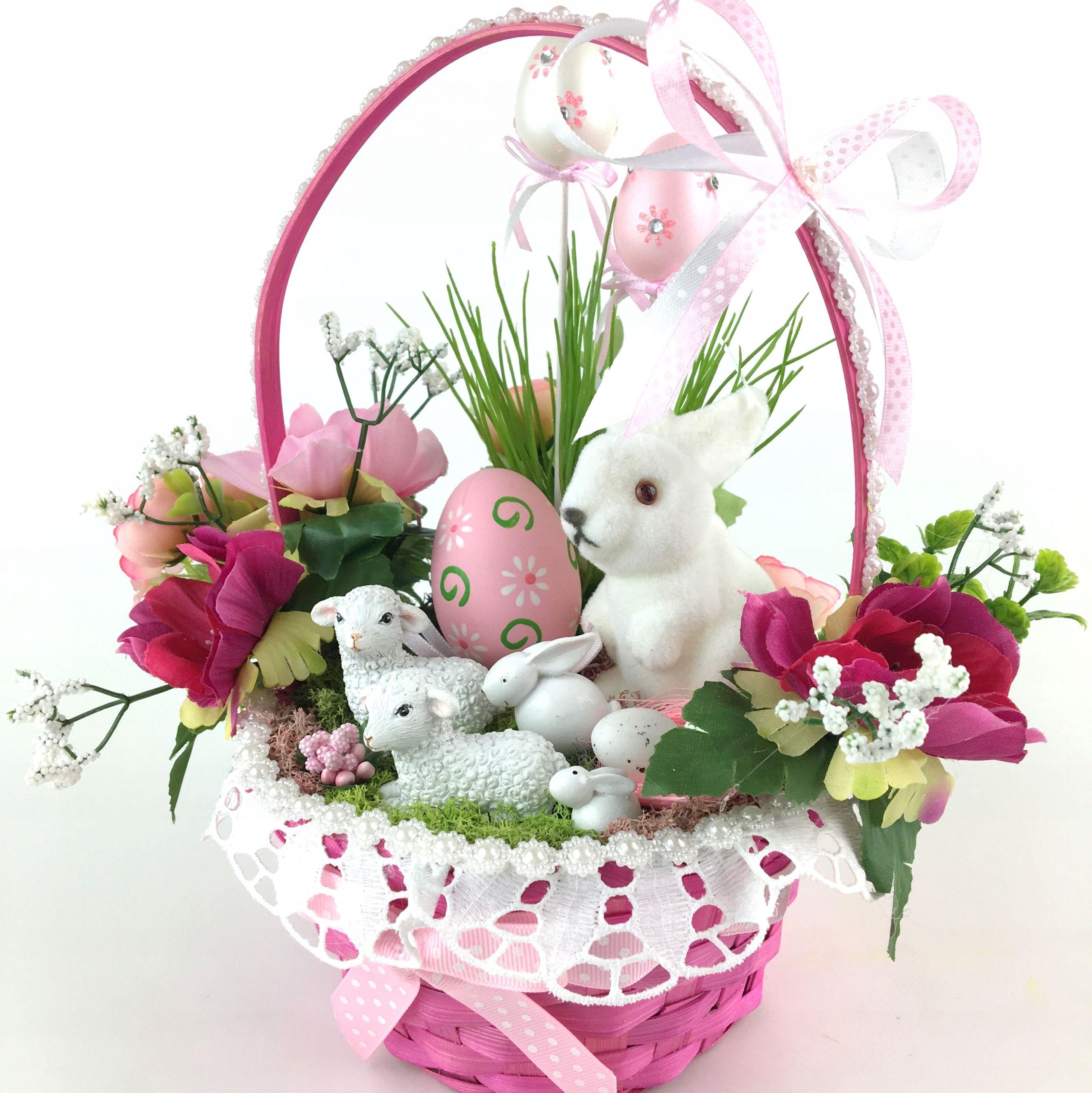 Koszyczek Dzieciecy Stroik Wielkanocny Prezent 7953183441 Oficjalne Archiwum Allegro Diy Decor Home Decor