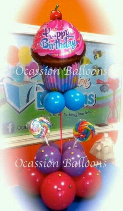 Cute ballon Celebrazioni Pinterest Globo, Centro y Decoración