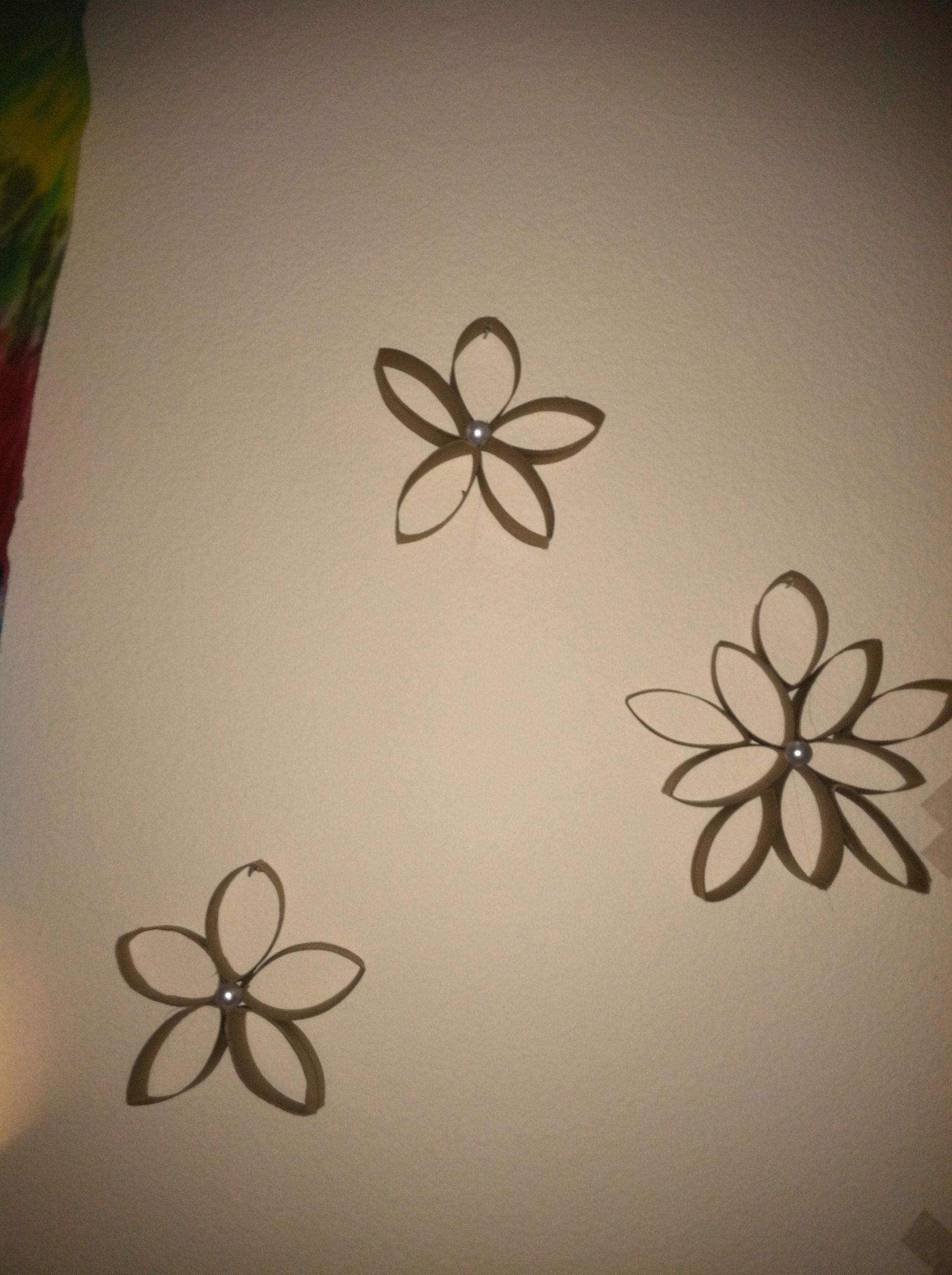Toilet Paper Roll Flowers Things I Have Made Pinterest Toilet