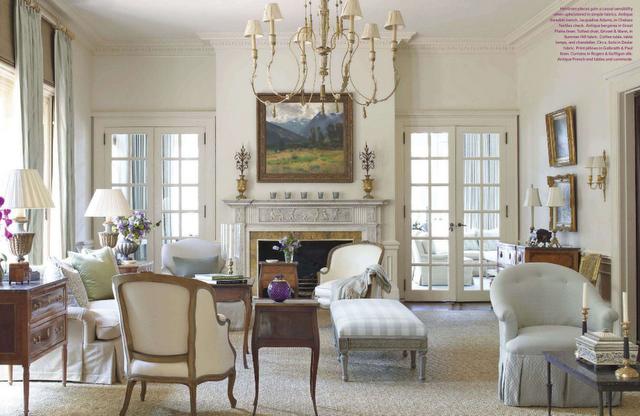 The Living Room Of Charlotte NC Home In April 2012 Edition Veranda Magazine