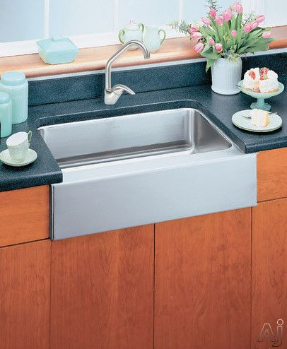 Elkay Lustertone Collection Eluhfs2816 Single Bowl Kitchen Sink