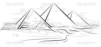 Resultado De Imagem Para Piramides Do Egito Desenho Pinterest