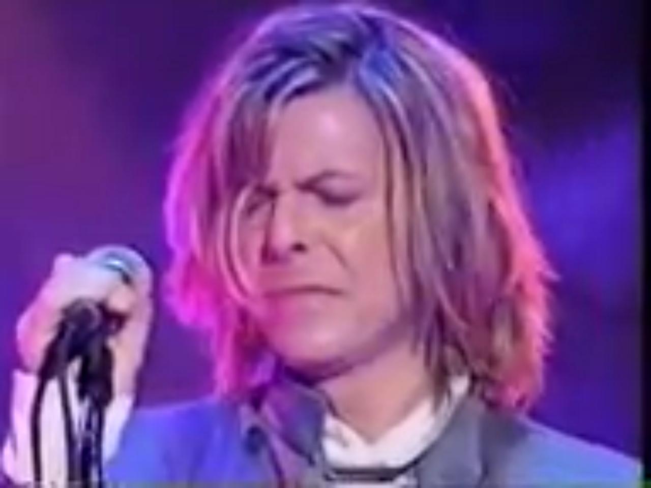David Bowies Glorious Long Hair 1999 2000 David Bowie Bowie David